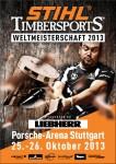 Stihl Timbersports Weltmeisterschaft 2013 in Stuttgart